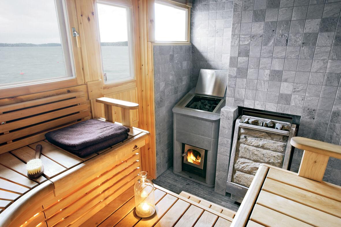 Печь газо дровяная для бани своими руками